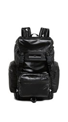 Adidas By Stella Mccartney Tech Backpack Black White Black