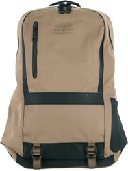 As2ov Padded Strap Backpack Men Nylon One Size Nude Neutrals