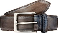 Harris Leather Belt Blue
