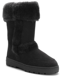 Style And Co. Witty Cold Weather Boots Only At Macy's Women's Shoes Black