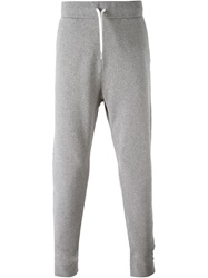 Tomas Maier Tapered Track Pants Grey
