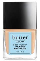 Butter London 'Sheer Wisdom' Nail Tinted Moisturizer