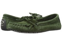 Manitobah Mukluks Sunshine Moccasin Moss Women's Moccasin Shoes Green