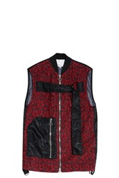 3.1 Phillip Lim Women S Lace Gilet Boutique1 Red