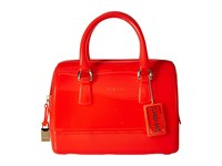 Furla Candy Cookie Small Satchel Arancio Satchel Handbags Orange