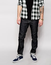 Superdry Washed Raw Jeans In Straight Fit Rawblueqop