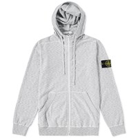 Stone Island Rasto Cotton Hoody Grey