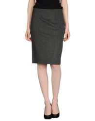 Alviero Martini 1A Classe Knee Length Skirts Lead