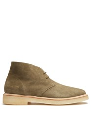 Common Projects Suede Chukka Boots Khaki