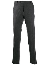 Tonello Straight Leg Trousers Grey