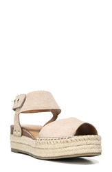 Sarto By Franco Sarto Women's Oak Platform Wedge Espadrille Summer Beige Brushed Suede