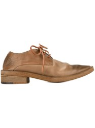 Marsell Marsa Ll Pointed Toe Lace Up Shoes Brown