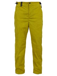C.P. Company Side Zip Stretch Nylon Trackpants Yellow