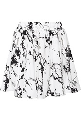 Zimmermann Printed Crepe Mini Skirt