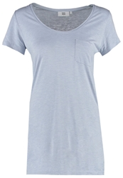 Noa Noa Basic Tshirt Cool Blue Light Blue