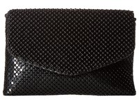 Jessica Mcclintock Brooklyn Flap Clutch Black Clutch Handbags