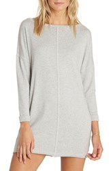 Billabong 'S Only One T Shirt Dress Athletic Grey