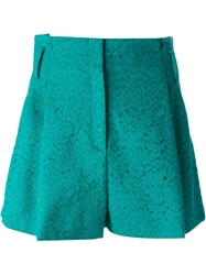 N.21 Pleated Lace Shorts