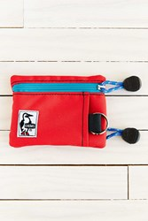 Chums Eco Key Coin Case Red
