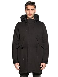 Diesel Quilted Jacket And Cotton Fleece Coat