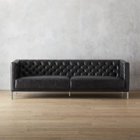 Cb2 Savile Leather Sofa