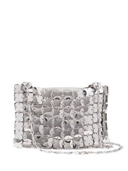 Paco Rabanne Square 1969 Chain Shoulder Bag Silver