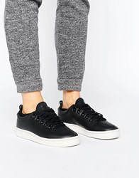 K Swiss Roy Ankle Sock Trainers In Black Black Lily White