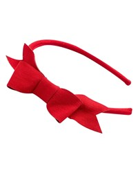 Pili Carrera Girls' Bow Headband Red