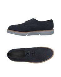 Alberto Guardiani Lace Up Shoes Dark Blue