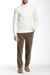 Louis Raphael Cord Tailored Modern Fit Pant Green