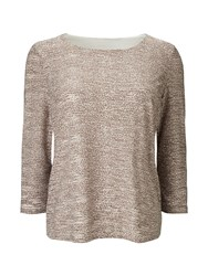 Eastex Mixed Texture Jersey Top Multi Coloured Multi Coloured