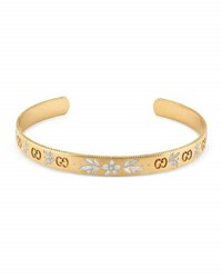 Gucci Icon Bangle Bracelet In 18K Gold