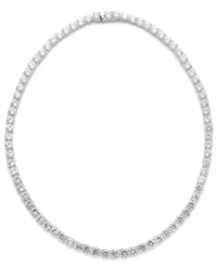 Eliot Danori Necklace Cubic Zirconia And Crystal Classic Necklace 29 Ct. T.W.
