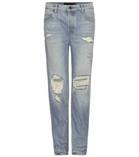 Alexander Wang Wang 003 Distressed Jeans Blue