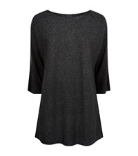 Eileen Fisher Boat Neck Jumper Female Black