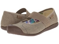 Keen Sienna Mj Canvas Brindle Women's Flat Shoes Brown