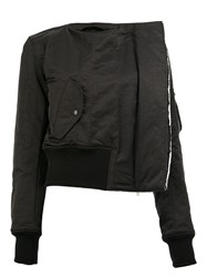 Yang Li Collarless Jacket Black