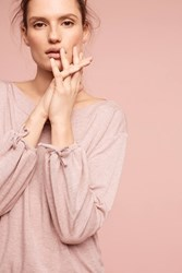 Anthropologie Kacee Sweatshirt Rose