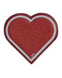 Leather Heart Sticker For Handbag Red Anya Hindmarch