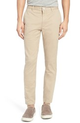Bonobos Men's Slim Fit Washed Stretch Cotton Chinos True Khaki