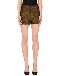 Gold Case Shorts Ochre