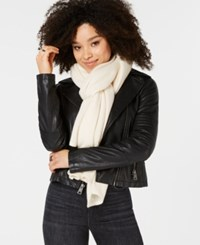 Charter Club Pure Cashmere Oversized Scarf Ivory