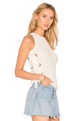 Lovers Friends Electric Avenue Sweater White