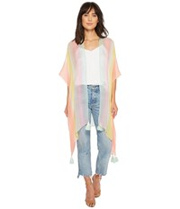 Steve Madden Rainbow By The Sea Boho Topper Pales Clothing Gray