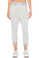 Sundry Porkchop Distressed Pocket Pant Light Gray