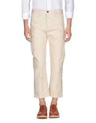 True Nyc. Casual Pants Ivory