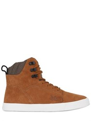 K1x State Leather High Top Sneakers
