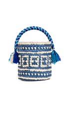Yosuzi Tara Bucket Bag Blue Multi