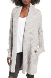 Leith Women's Waffle Knit Cardigan