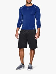 Under Armour Heatgear Long Sleeve Top Blue